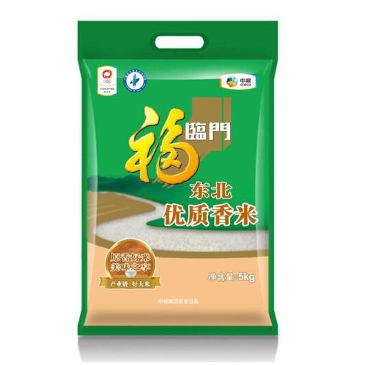 中粮福临门东北优质香米5kg