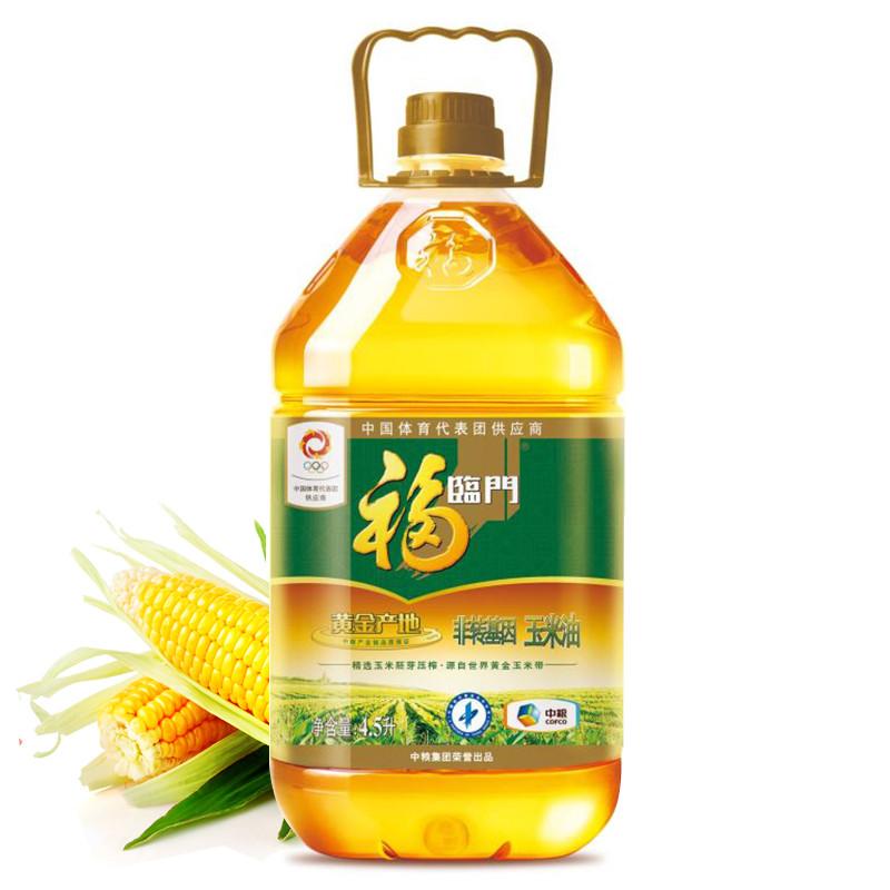 福临门黄金产地玉米油5L