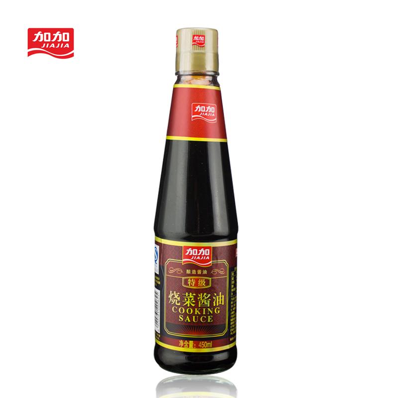 加加特级烧菜酱油450ml
