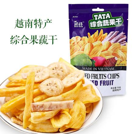 TATA榙榙综合果蔬干75g
