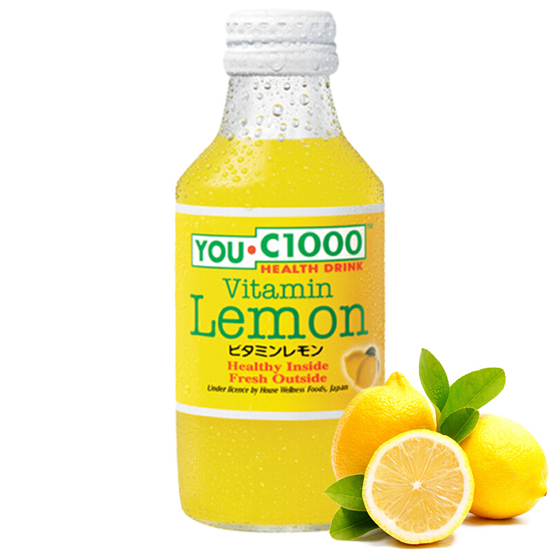 YOU.C1000柠檬汁碳酸饮料140ml